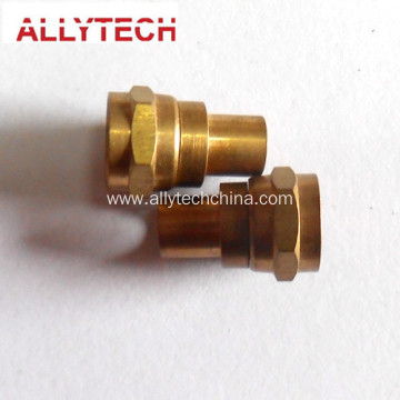 Precision Polishing Brass Lathe Turning Mechanical Parts